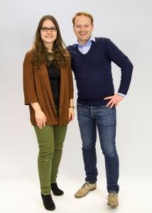Florian Rappen und Luis Ziegler