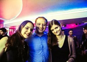 von links: Luisa Ziegler Florian Rappen und Alina Woiske BuFaK WiSo Abendprogramm