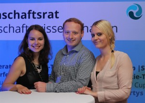 v.l.: Luisa Ziegler, Florian Rappen & Katharina Lauth-Angermüller